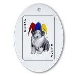 CafePress Oval Ornament