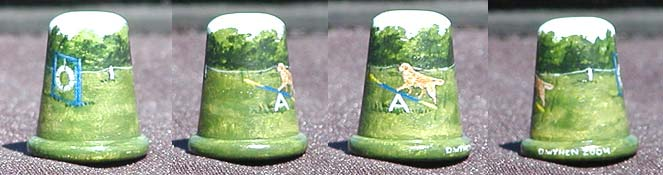 Golden Retriever Thimble